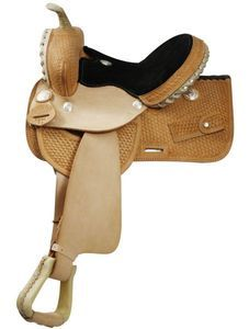 16 Western Barrel Racing Saddle w/ Pick Holder QUALITY SADDLE by