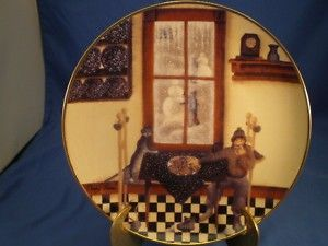 Kitchen Visitors Franklin Mint Plate Carol J Endres