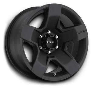 Method MR302 Fat Five 18x9 Black Wheels All Trucks SUV