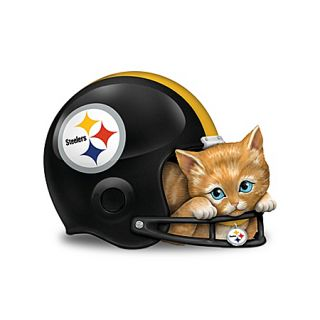 Edition NFL Pittsburgh Steelers Cat Fur Ever A Fan Figurine