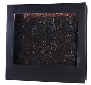 Kenroy Home Central Square Indoor Wall Water Fountain Bronze Finish