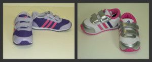 New Adidas Snice CF I Girls Shoes Sneakers Athletic Velcro 4 5 6 7 8