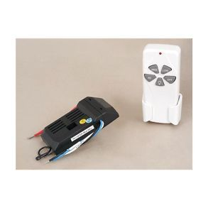 New Ceiling Fan Remote Control with 3 Speeds and Light Dimmer White