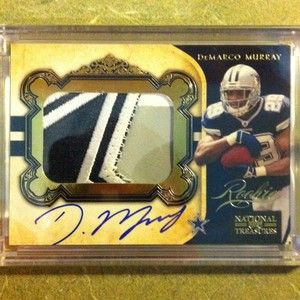 Demarco Murray Panini National Treasures Rc Gold Jersey Auto /49 Sick