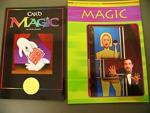 Lot Card Magic Tricks Charles Reynolds Kids Books Ages 7 Up How To