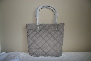 Kate Spade Chestnut Ridge Bon Shopper Tote Bag Purse Ash Nylon
