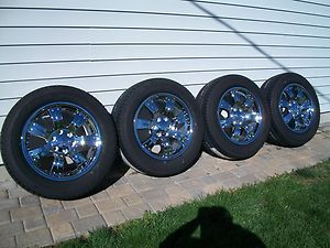 20 chrome ck988 tahoe silverado LTZ gm accessories wheels rims tire 88