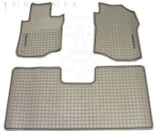2005 2009 Chevrolet Equinox Front Rear Custom Vinyl Floor Mats Gray w