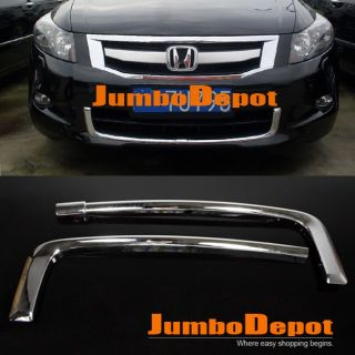 Chrome Front Lower Bumper Grille Trim for Honda Accord