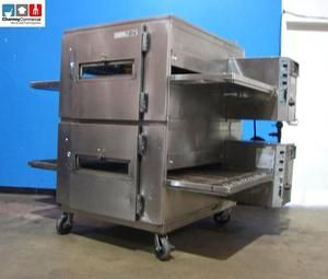 Lincoln Impinger 1200 Double Stack Gas Fired Commercial Pizza Conveyor