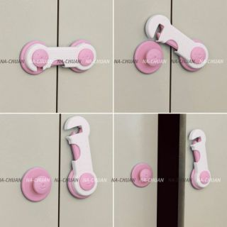 Door Drawers Cabinet Safety Security Lock For Toddler Child Kids Baby