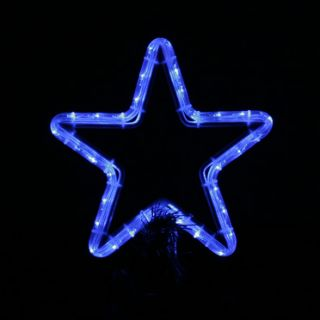 LED Star Christmas Tree Topper Rope Light Decoration Indoor Outdoor
