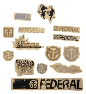 Federal 11 Assorted Stickers