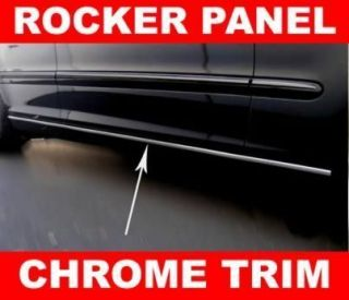 Chevy Avalanche Silverado SSR Chrome Rocker Panel Trim Molding