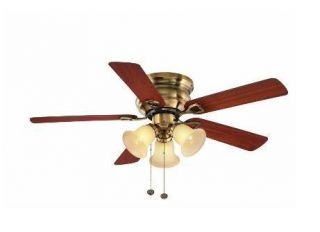 Hampton Bay Clarkston 44 inch Ceiling Fan with Light Kit Premium