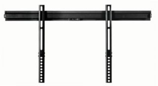 new 42 to 65 inch led lcd plasma tv wall mount black slim hanger low