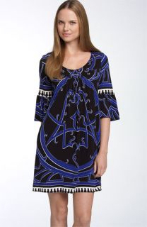 Nicole Miller Bell Sleeve Shift Dress