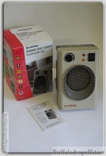 Comfort Zone Electric Space Heater Portable Forced Air