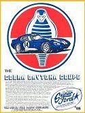 Ford Shelby Cobra 427 Daytona Super Coupe Race Car 36