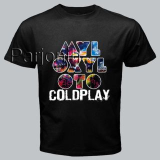 Coldplay Paradise Alternative Rock Band Music Album Tee T Shirt s M L