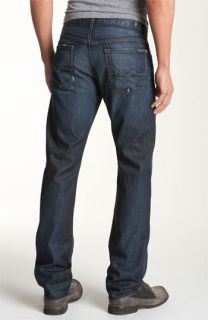 7 For All Mankind® Standard Straight Leg Jeans (Driftwood Night Wash)