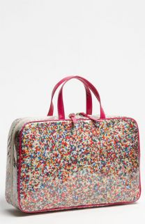 kate spade new york sprinkles   large manuela cosmetics case