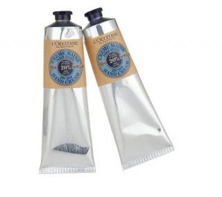 LOccitane Large Shea Butter Hand Cream Duo —