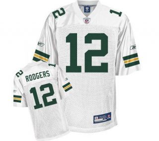 NFL Green Bay Packers Aaron Rodgers Replica White Jersey   A313658