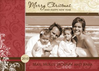 Christmas Custom Personalized Photo HOLIDAY CARDS Digital File   You