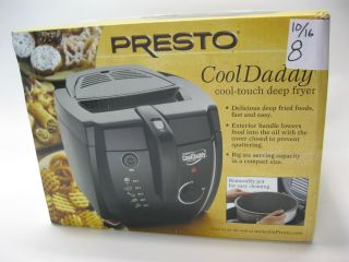 Presto 05442 Cool Daddy Cool Touch Electric Deep Fryer