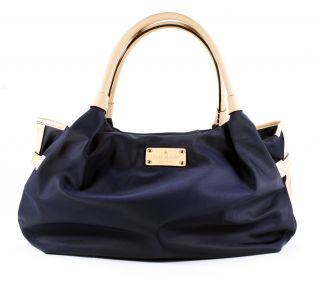 kate spade stevie nylon shoulder bag collins avenue navy brand new and