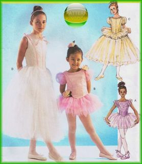 girls ballet dance costumes skirt dress tutu patterns