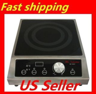 Glass Cooktop 3400W Countertop Induction Range 208 240V