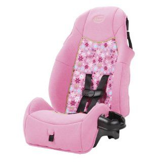 Cosco Juvenile Highback Car Booster Seat Girl Polka Dot Posy Pink New