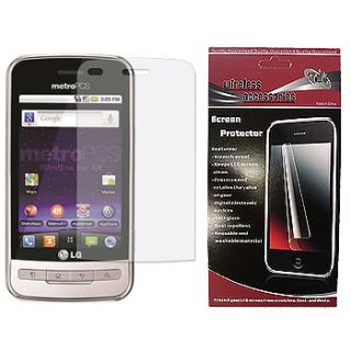 Cricket LG Optimus C Phone Screen Protector Skin