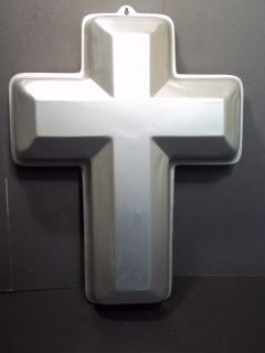 Wilton Large Religious Easter Cross Shape Cake Pan #502 2502