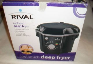 Rival Cool Touch Deep Fryer CF106 New