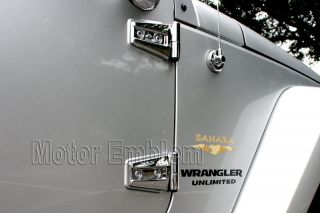 28 Pcs Jeep Wrangler 4 Door Chrome Hood Door Hinge Trim 07 08 09 10 11