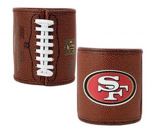 NFL San Francisco 49ers Football Can Holder Set —