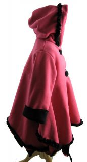 Corky and Company 2T Pink Handkerchief Girl Winter Coat