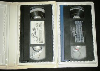 Kevin Bacon & SNOW DOGS With Cuba Gooding Jr Animated VHS Movie Set