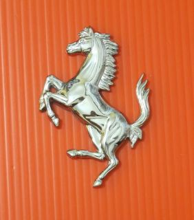 Ferrari Car Horse Logo Grille Trunk Emblem Logo Badge Sticker 1pc