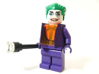 Lego Batman Dark Knight CUSTOM Jack Nicholson JOKER with Cane