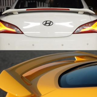 2013 2014 Genesis Coupe LED Rear Spoiler + Brake Light Genuine Parts