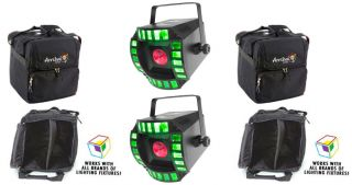 Chauvet Cubix 2 0 LED DJ RGB Centerpiece Multi Color Lights 2 Arriba