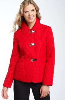 MICHAEL Michael Kors Clip Closure Quilt Jacket