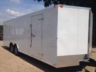 Trailer 85x20 V Nose Cargo Car Hauler Dallas Austin Waco Texas