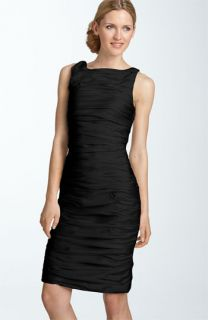 Calvin Klein Sleeveless Taffeta Sheath Dress
