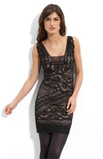 Nicole Miller Stretch Lace Sheath Dress