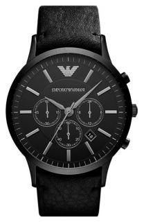 Emporio Armani Classic Large Round Chronograph Watch
